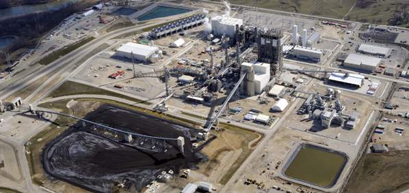 """What will $3.3 billion buy? just a bunch of Chinese steel and experimental technology for which Dupe Energy customers were forced by the state of Indiana to assume the risk for. Pictured is the Duke Energy Edwardsport power plant which could turn out to be a very expensive """"lemon."""" Photo © 2012 John Blair"""