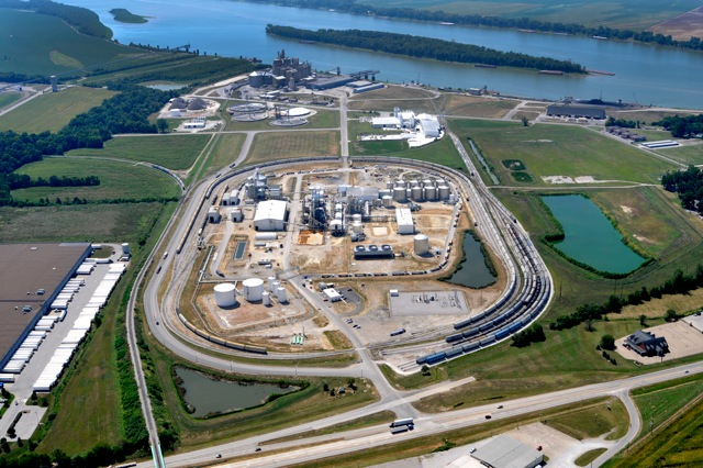 The Fatima proposal would have been build just east of Aventine's second largest ethanol plant in the US as shown here in this file photo from 2011. © John Blair